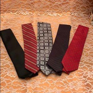 Men's tie bundle (14 total)